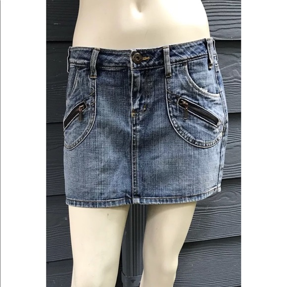 43fac303229f lei Skirts | Ashley Juniors Women Denim Mini Skirt Sz 7 | Poshmark